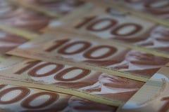 Kanadische Dollar Stockfoto