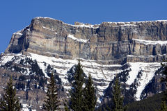 Kanadische felsige Berge Lizenzfreie Stockbilder