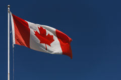 Kanadische Flagge Lizenzfreies Stockbild