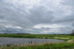 Kanadische Grasland-Landschaft lizenzfreie stockbilder