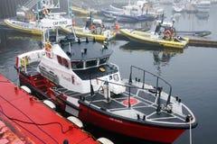 Kanadische Küstenwache stockfoto