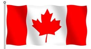 Kanadische Markierungsfahne vektor abbildung