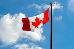 Kanadische Markierungsfahne Lizenzfreie Abbildung