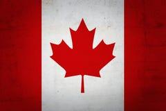 Kanadische Markierungsfahne Stockbild