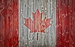 Kanadische Markierungsfahne Stockbilder