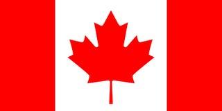 Kanadische Markierungsfahne stock abbildung