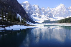 Kanadische Rockies. lizenzfreie stockfotografie