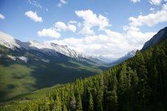 Kanadische Rockies Stockbild