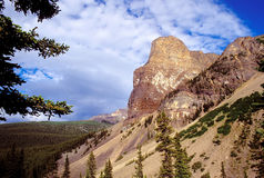 Kanadische Rockies - dayscene 6 Stockfotografie