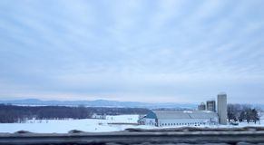 Kanadischer Bauernhof Stockfotografie