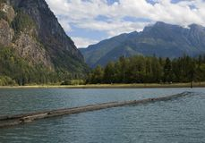Kanadischer Fjord Stockbild