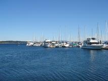 Kanadischer Jachthafen stockfotografie