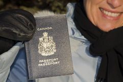 Kanadischer Paß Lizenzfreie Stockbilder