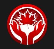 Kanadischer Patriot lizenzfreie abbildung