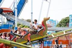 Kanadischer Premierminister Justin Trudeau und Hadrien At Carnival lizenzfreie stockfotografie