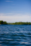 Kanadischer See am Sommer Lizenzfreies Stockbild