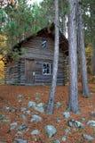 Kanadisches Blockhaus Lizenzfreies Stockfoto