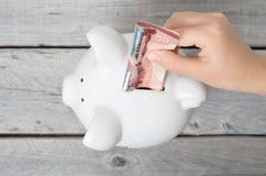 Kanadisches Einsparungskonzept Lizenzfreies Stockbild