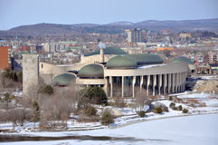 Kanadisches Museum der Zivilisation, Gatineau, Quebec lizenzfreie stockfotografie