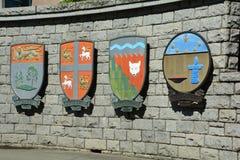 Kanadisches provinzielles Wappen Lizenzfreie Stockfotos