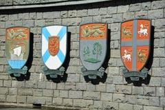 Kanadisches provinzielles Wappen Lizenzfreies Stockfoto