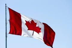 Kanadyjczyk Chorągwiany Kanada obraz stock