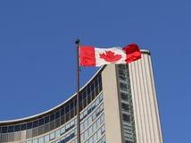 kanadyjczyk flaga Zdjęcia Stock