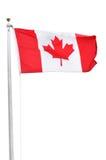 kanadyjczyk flaga fotografia royalty free