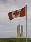 Kanadyjczyk flaga fotografia stock