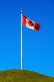 Kanadyjczyk flaga obraz stock
