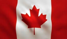 Kanadyjczyk flaga - Kanada liść klonowy zdjęcia royalty free