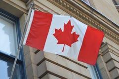 Kanadyjczyk flaga w Ottawa Fotografia Stock