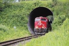 Kanadyjczyk Pacyfik i Taborowy tunel zdjęcie stock