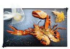 kanadyjczyk piec na grillu homar obraz stock
