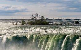 Kanadyjska podkowa Spada przy Niagara Fotografia Stock