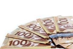 Kanadyjska waluta Zdjęcia Stock