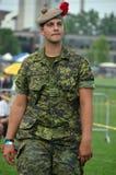 kanadyjski żołnierz Zdjęcia Stock