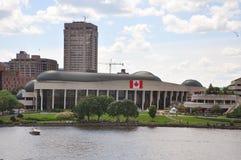 kanadyjski cywilizaci gatineau muzeum Quebec Fotografia Royalty Free