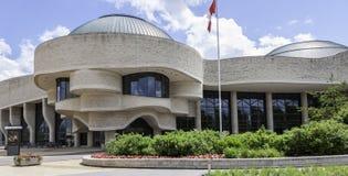 Kanadyjski muzeum cywilizacja obraz royalty free