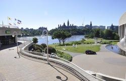 Kanadyjski muzeum historia park od Ottawa w Kanada fotografia royalty free