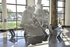 Kanadyjski muzeum historii wnętrze od Ottawa w Kanada obraz stock