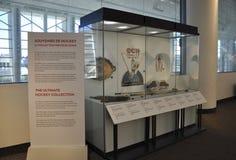 Kanadyjski muzeum historii wnętrze od Ottawa w Kanada zdjęcie stock