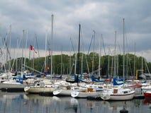 kanadyjski na łodzi Zdjęcia Royalty Free