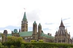 kanadyjski parlament Obrazy Royalty Free
