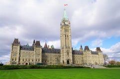 kanadyjski parlament Zdjęcia Stock
