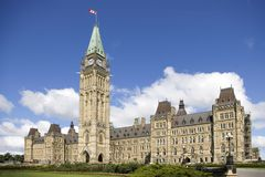 kanadyjski parlament obrazy stock