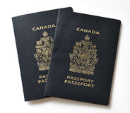 kanadyjski paszport obrazy royalty free
