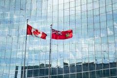 Kanadyjski patriotyzm fotografia royalty free