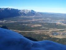 kanadyjskie góry skaliste Obraz Stock