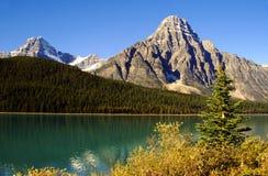 kanadyjskie góry skaliste Zdjęcie Stock
